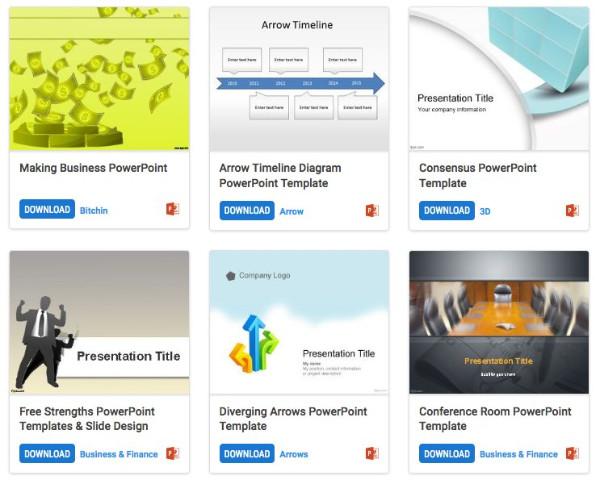 Extrêmement Top 10 des sites pour trouver des templates PowerPoint gratuits FL44