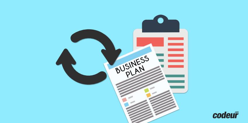 mettre à jour business plan