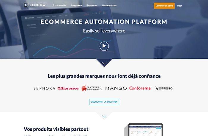 gestionnaire de flux e-commerce lengow
