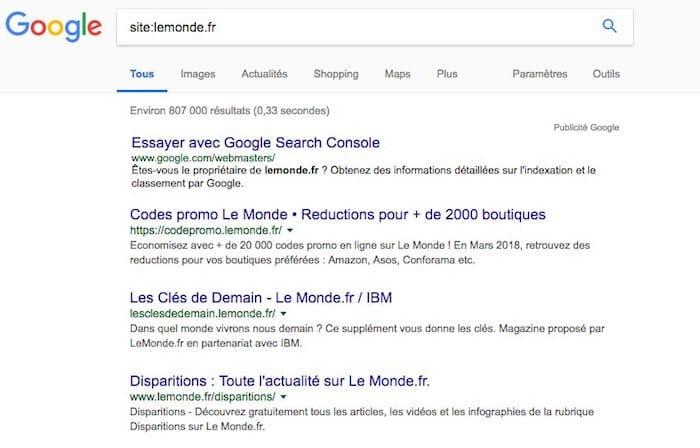 Améliorez votre veille marketing avec les opérateurs de recherche Google