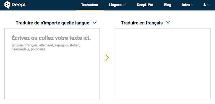 recherche traducteur anglais français