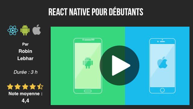 formation développement react native