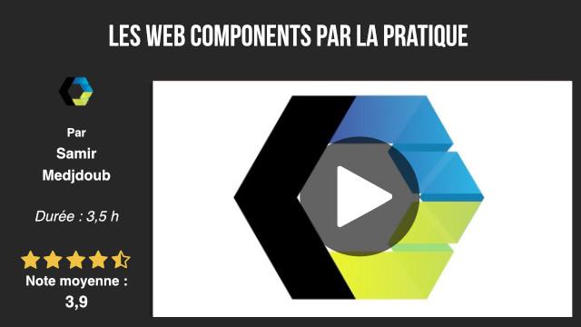 formation développement web components