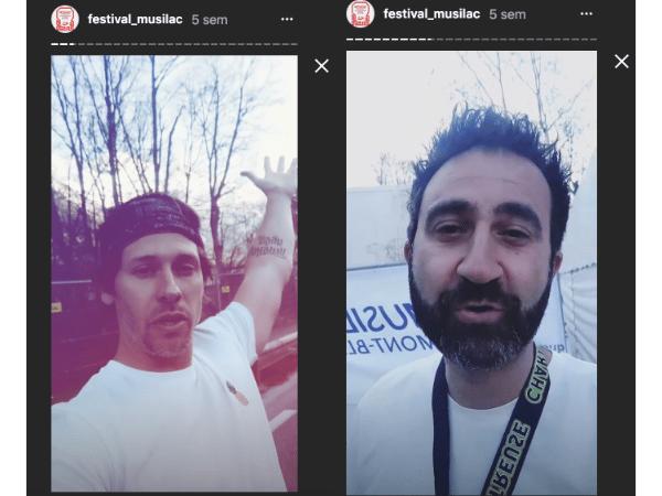 Stories Instagram vidéos