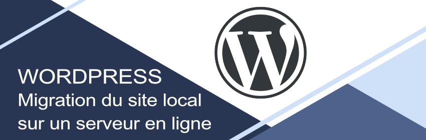 tutoriel migration d'un site wordpress local