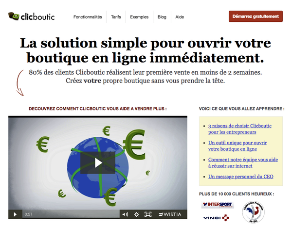 Clicboutic ecommerce