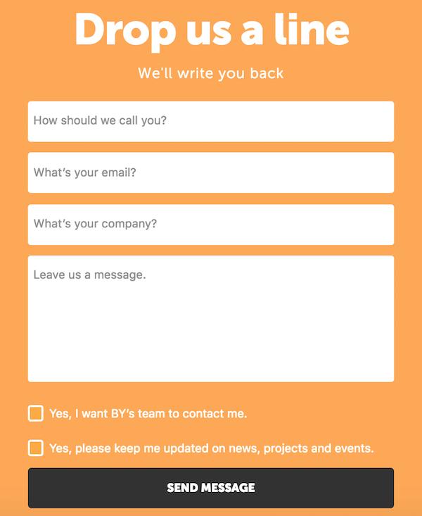 Exemple formulaire de contact