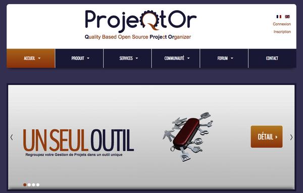 Outil gestion de projet Projeqtor