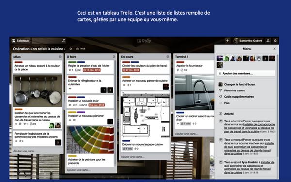 Outil gratuit gestion de projet Trello
