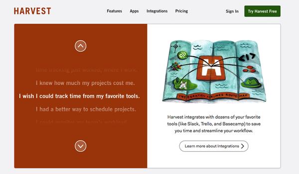 Harvest gestion de projets