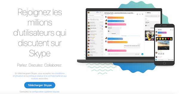 Skype outil travail collaboratif