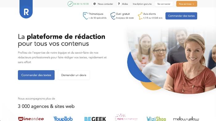 Redacteur.com, plateforme de rédaction pour tous vos contenus