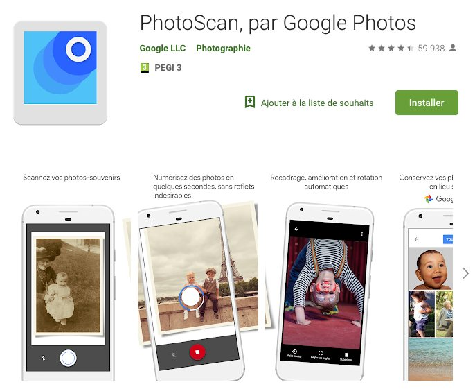 Application Pour Scanner Des Photos