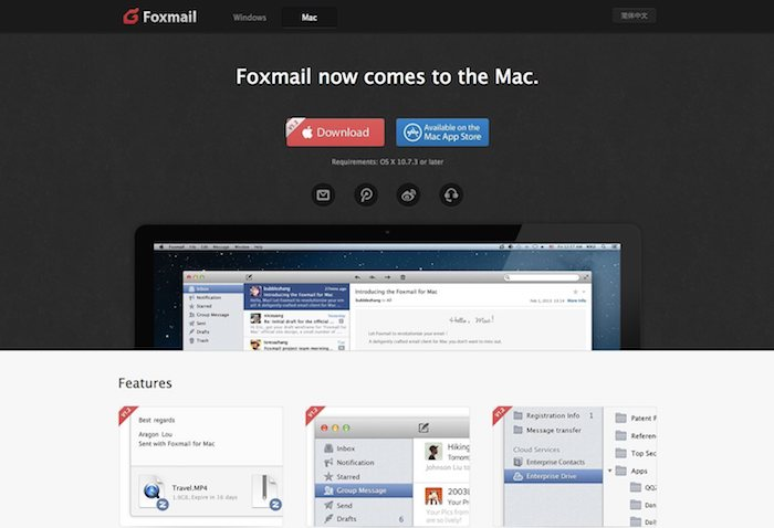 client mail foxmail