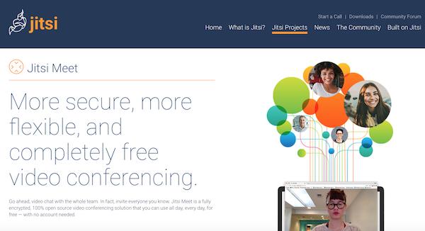 Outil gratuit webinaire Jitsi Meet