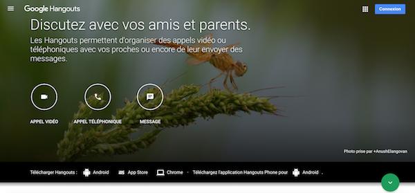 Webinaire gratuit Google Hangouts
