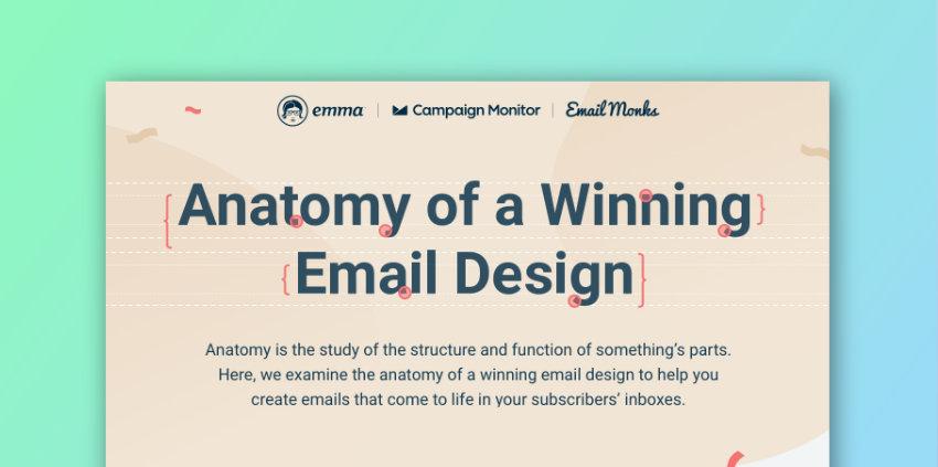 L'anatomie d'un email qui sera lu et cliqué par vos abonnés (Infographie)