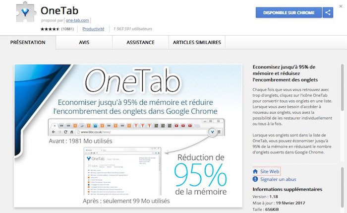 extension chrome pour la productivité
