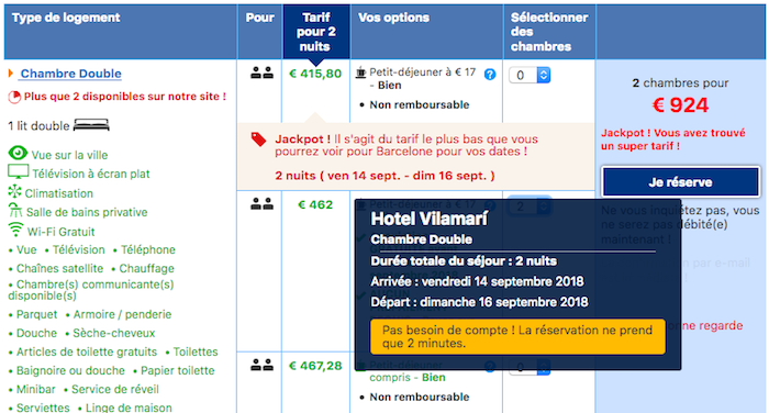 réassurance booking