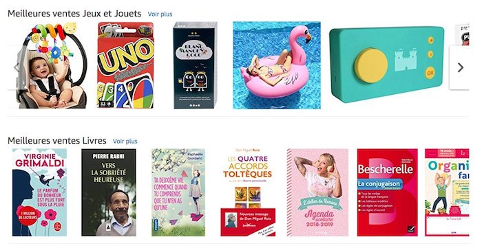 recommandations amazon