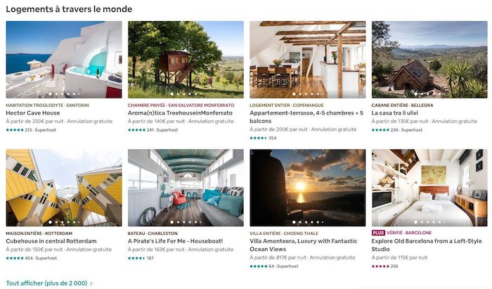 suggestions airbnb