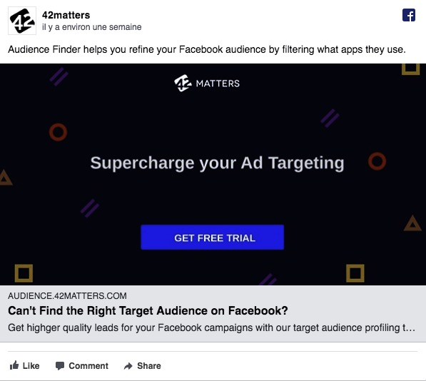 Facebook Ads négatif