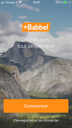 onboarding d'application mobile