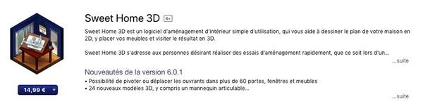 Description app mobile