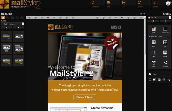 Mail Styler gratuit