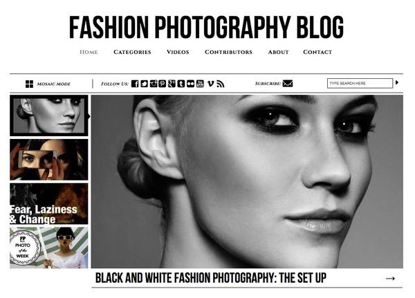 Blog fashion photographie