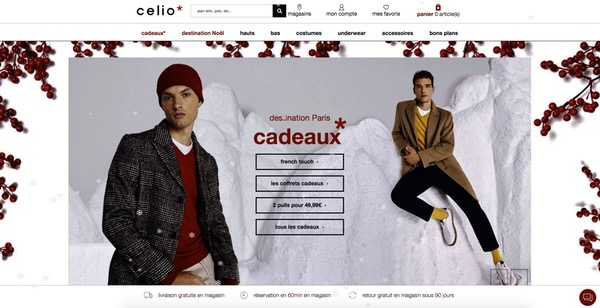 Design Noël Celio