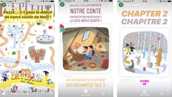 Story Instagram Noël