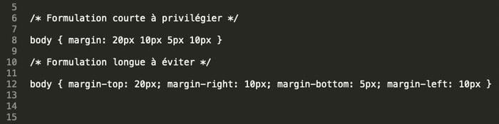 Code CSS
