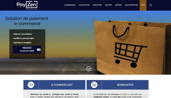 Payzen Paiement e-commerce