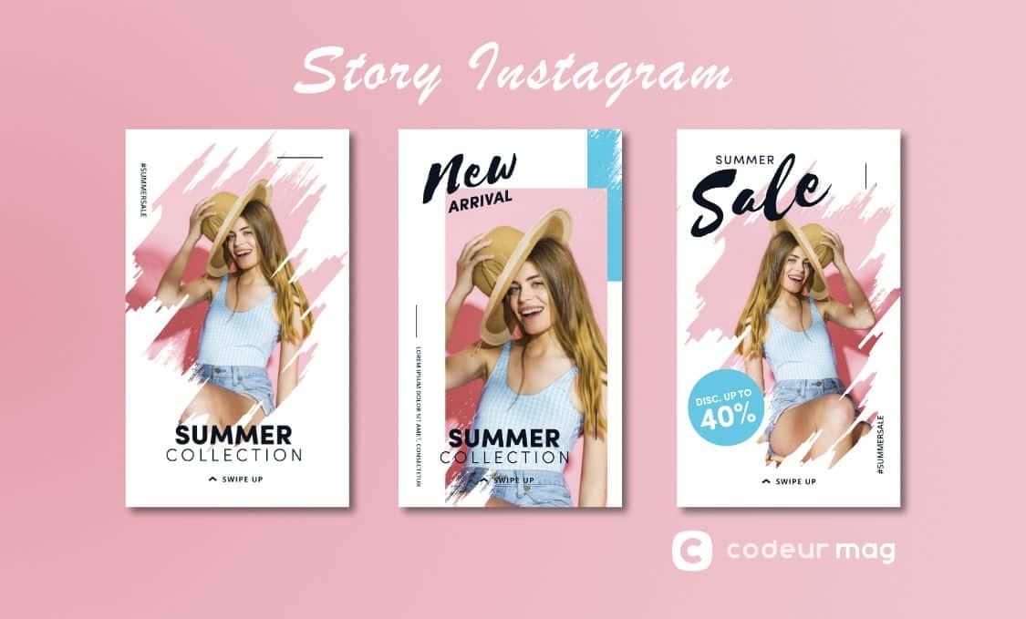 Visibilité stories Instagram dans le feed