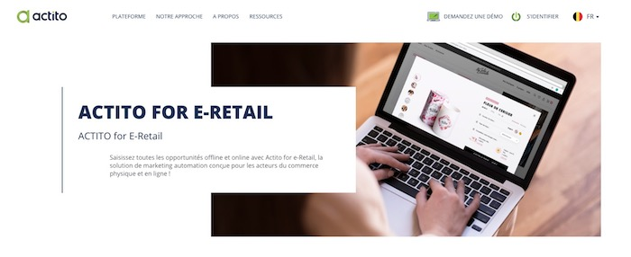 solution email marketing automation e-commerce Actito