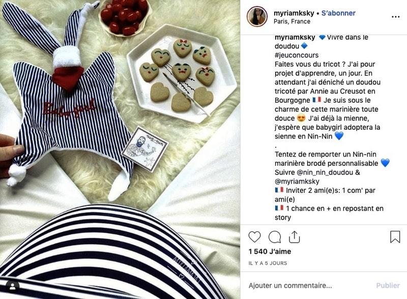 Engagement influenceur Instagram