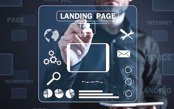 Landing Page Mobile Création