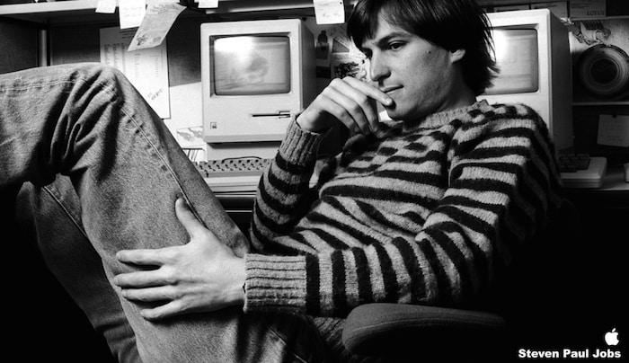 Steve Jobs jeune