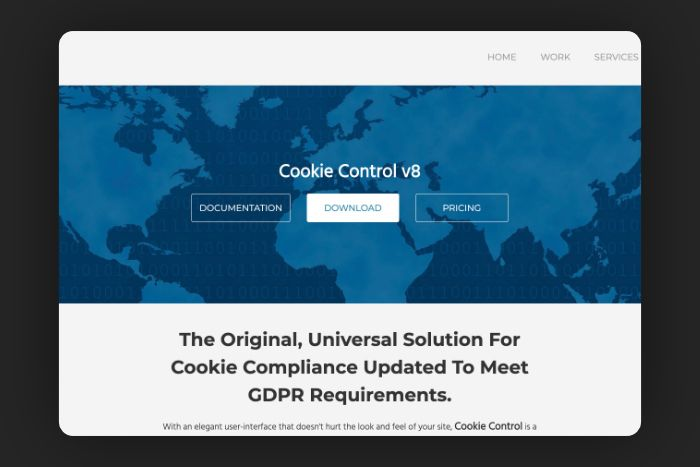 Cookie control