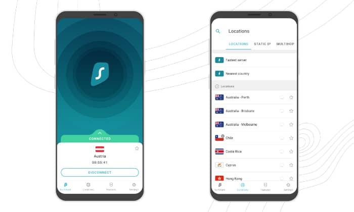 Surfshark VPN protection vie privée