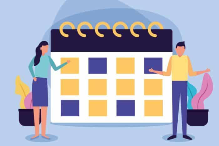Gestion de projet définir le calendrier