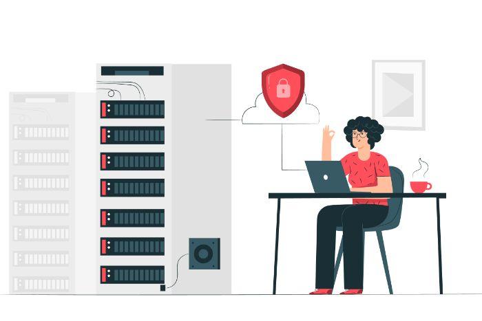 Seveur sécurisé cybersécurité