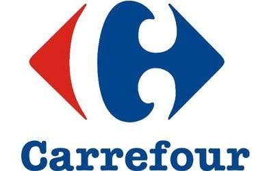 théorie de Gestalt appliquée au webdesign logo Carrefour