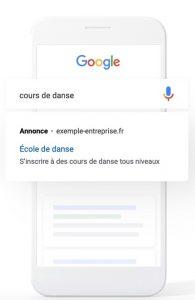 Google Ads mobile e-commerce