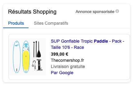 SEA optimisation e-commerce