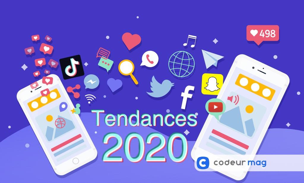 Tendances social media 2020