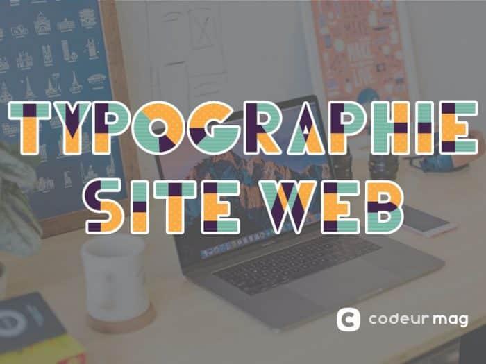 choix typographie site web accessibilité