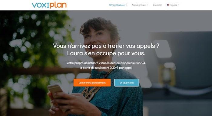Voxiplan assistante prise de rendez-vous en ligne