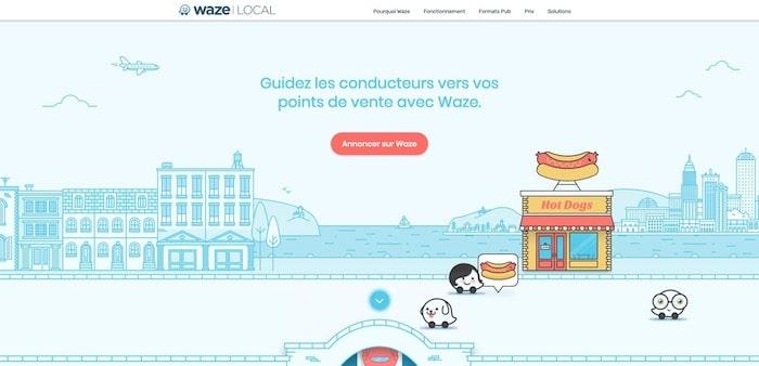 marketing local Waze